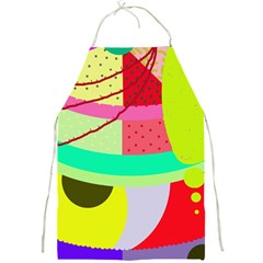 Colorful abstraction by Moma Full Print Aprons