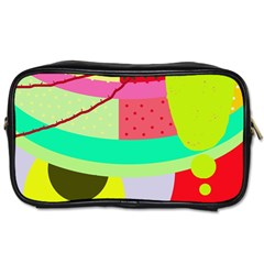 Colorful abstraction by Moma Toiletries Bags