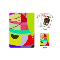Colorful abstraction by Moma Playing Cards (Mini)