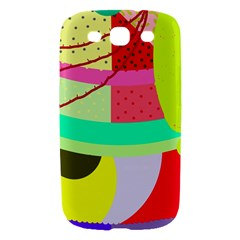 Colorful abstraction by Moma Samsung Galaxy S III Hardshell Case