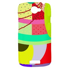 Colorful abstraction by Moma HTC One S Hardshell Case