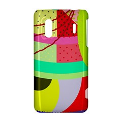 Colorful abstraction by Moma HTC Evo Design 4G/ Hero S Hardshell Case