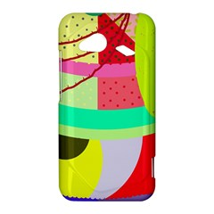Colorful abstraction by Moma HTC Droid Incredible 4G LTE Hardshell Case