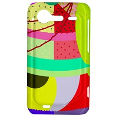 Colorful abstraction by Moma HTC Incredible S Hardshell Case