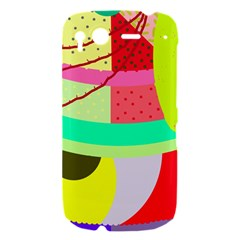 Colorful abstraction by Moma HTC Desire S Hardshell Case