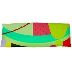 Colorful abstraction by Moma Body Pillow Case (Dakimakura)