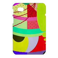 Colorful abstraction by Moma Samsung Galaxy Tab 7  P1000 Hardshell Case