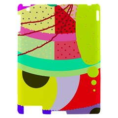 Colorful abstraction by Moma Apple iPad 2 Hardshell Case