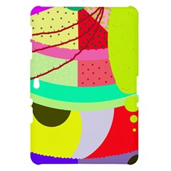 Colorful abstraction by Moma Samsung Galaxy Tab 10.1  P7500 Hardshell Case