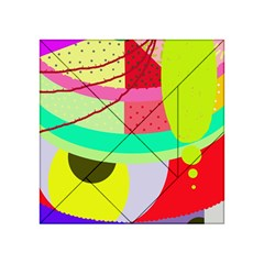 Colorful abstraction by Moma Acrylic Tangram Puzzle (4  x 4 )