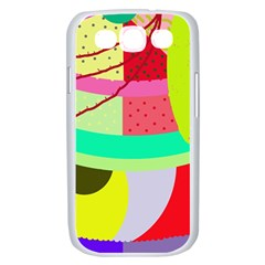 Colorful abstraction by Moma Samsung Galaxy S III Case (White)