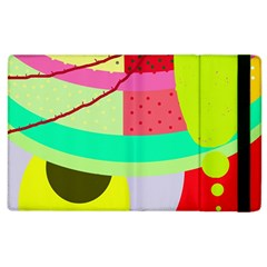 Colorful abstraction by Moma Apple iPad 3/4 Flip Case