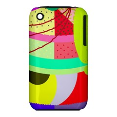 Colorful abstraction by Moma Apple iPhone 3G/3GS Hardshell Case (PC+Silicone)