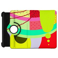 Colorful abstraction by Moma Kindle Fire HD Flip 360 Case