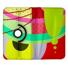 Colorful abstraction by Moma Samsung Galaxy Note II Flip 360 Case