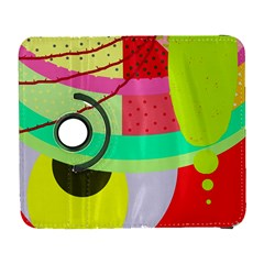Colorful abstraction by Moma Samsung Galaxy S  III Flip 360 Case