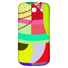Colorful abstraction by Moma Samsung Galaxy S3 S III Classic Hardshell Back Case