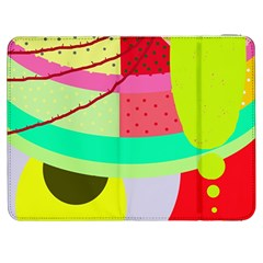 Colorful abstraction by Moma Samsung Galaxy Tab 7  P1000 Flip Case