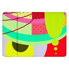 Colorful abstraction by Moma Samsung Galaxy Tab 8.9  P7300 Flip Case