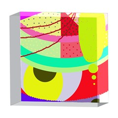 Colorful abstraction by Moma 5  x 5  Acrylic Photo Blocks