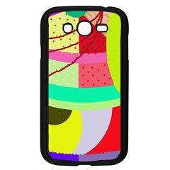 Colorful abstraction by Moma Samsung Galaxy Grand DUOS I9082 Case (Black)