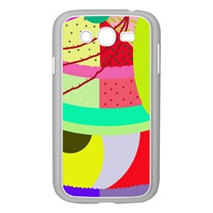 Colorful abstraction by Moma Samsung Galaxy Grand DUOS I9082 Case (White)