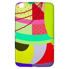 Colorful abstraction by Moma Samsung Galaxy Tab 3 (8 ) T3100 Hardshell Case
