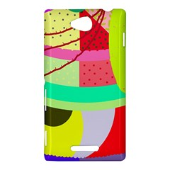 Colorful abstraction by Moma Sony Xperia C (S39H)