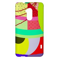 Colorful abstraction by Moma HTC One Max (T6) Hardshell Case