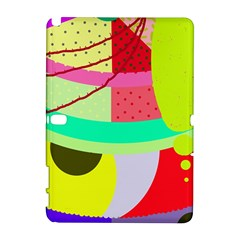 Colorful abstraction by Moma Samsung Galaxy Note 10.1 (P600) Hardshell Case