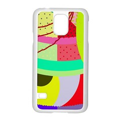 Colorful abstraction by Moma Samsung Galaxy S5 Case (White)