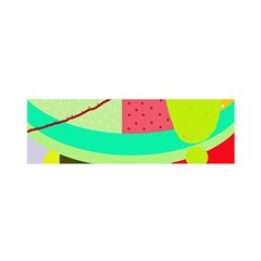 Colorful abstraction by Moma Satin Scarf (Oblong)