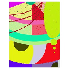 Colorful abstraction by Moma Drawstring Bag (Large)