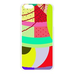 Colorful abstraction by Moma Apple Seamless iPhone 6 Plus/6S Plus Case (Transparent)