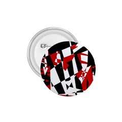 Red, black and white chaos 1.75  Buttons