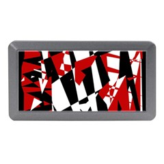 Red, black and white chaos Memory Card Reader (Mini)