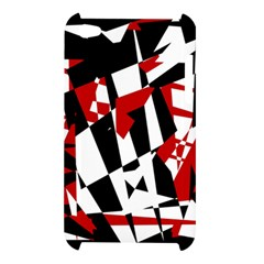 Red, black and white chaos Apple iPod Touch 4