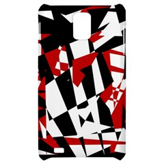 Red, black and white chaos Samsung Infuse 4G Hardshell Case