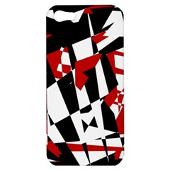 Red, black and white chaos Apple iPhone 5 Hardshell Case