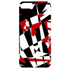 Red, black and white chaos Apple iPhone 5 Classic Hardshell Case