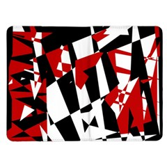 Red, black and white chaos Kindle Fire (1st Gen) Flip Case