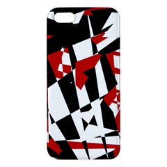 Red, black and white chaos iPhone 5S/ SE Premium Hardshell Case