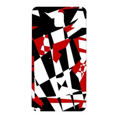 Red, black and white chaos Samsung Galaxy Note 3 N9005 Hardshell Back Case