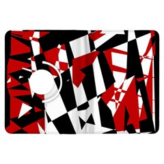 Red, black and white chaos Kindle Fire HDX Flip 360 Case