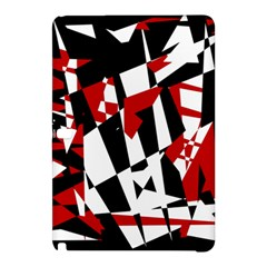 Red, black and white chaos Samsung Galaxy Tab Pro 12.2 Hardshell Case
