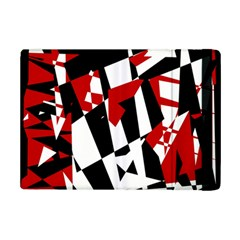 Red, black and white chaos iPad Mini 2 Flip Cases