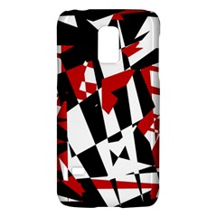 Red, black and white chaos Galaxy S5 Mini
