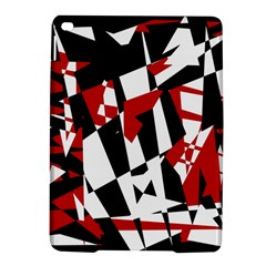 Red, black and white chaos iPad Air 2 Hardshell Cases