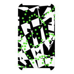 Black, white and green chaos Apple iPod Touch 4