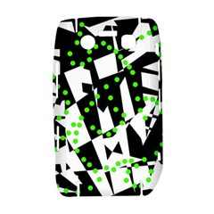 Black, white and green chaos Bold 9700